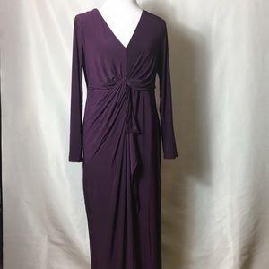 Thalia Sodi long dress